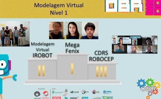 Paranaenses conquistam terceiro lugar na Olimpíada de Robótica