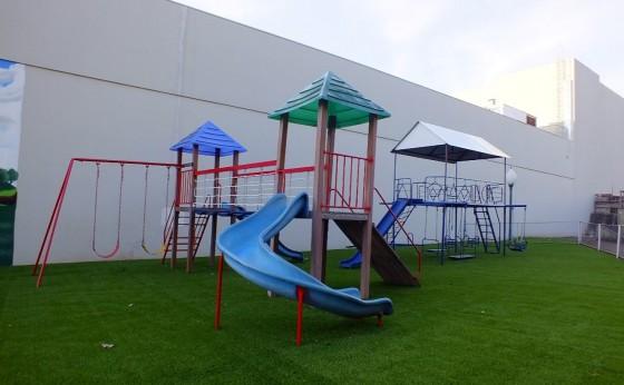 Parque Infantil na Praça Central de Missal é reformado
