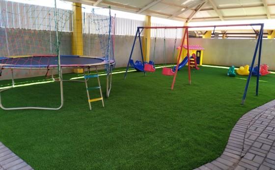 Parque Infantil no CMEI Sementes do Amanhã é concluído