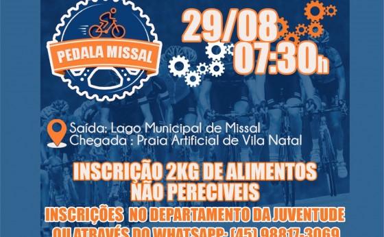 Pedala Missal será no próximo domingo