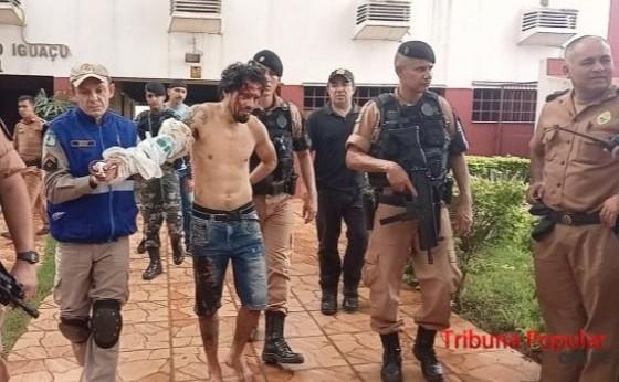 PM prende acusado de ser o autor da chacina dentro do bailão em Três Lagoas