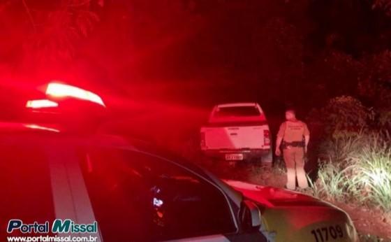 PM recupera veículo roubado poucas horas após o crime em São Miguel