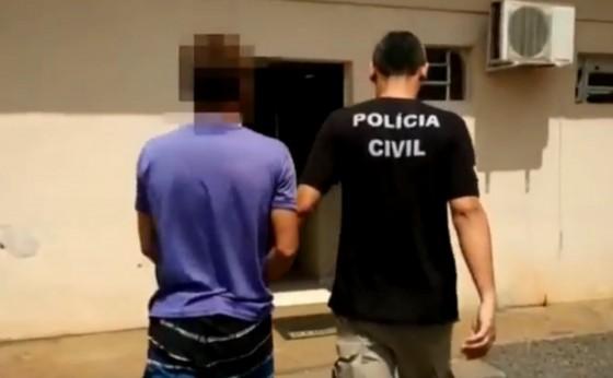 Polícia Civil cumpre mandado de prisão contra acusado de estuprar  própria filha em Itaipulândia