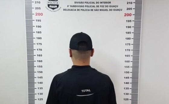 Polícia Civil cumpre mandado de prisão contra acusado de tráfico de drogas em Itaipulândia