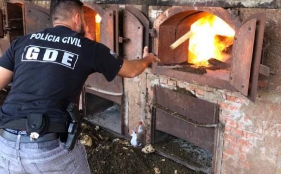 Polícia Civil incinera mais de cinco toneladas de drogas em Missal