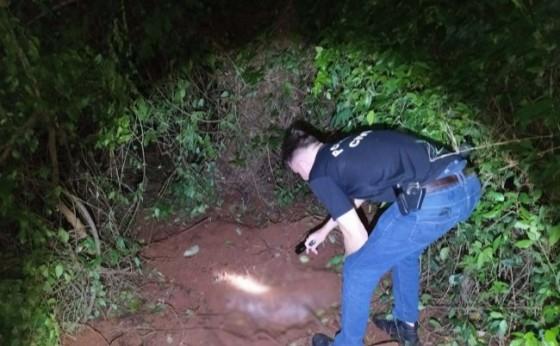 Polícia Civil localiza cadáver humano e sacos de ossos no interior de Santa Helena