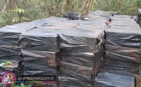 Polícia Federal apreende cigarros contrabandeados e prende quatro pessoas em Itaipulândia