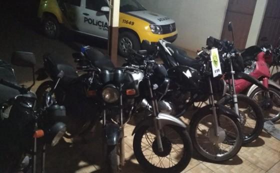 Polícia Militar apreende 7 motos após manobras perigosas em Missal