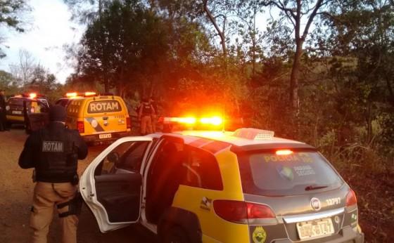 Polícia Militar cumpre mandados de prisão em Missal; dois foram presos