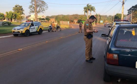 Policia Militar de Itaipulândia desencadeia Operação Vida