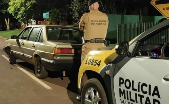 Polícia Militar de Itaipulândia recupera veículo furtado em Matelândia