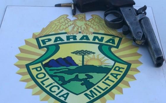 Polícia Militar de Missal prende indivíduo com arma de fogo