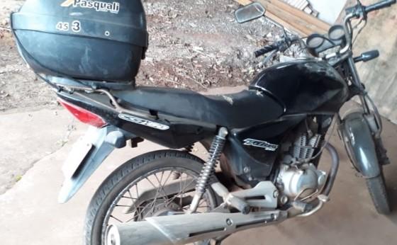 Polícia Militar de Missal em rápida ação recupera moto furtada e prende autor