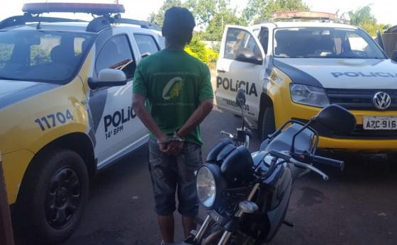 Polícia Militar de Missal prende homem e apreende munições