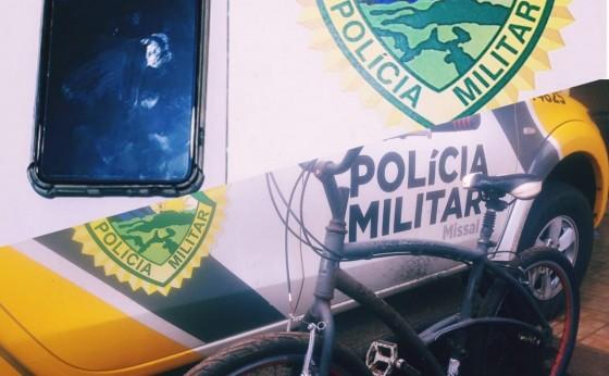 Polícia Militar de Missal recupera objetos furtados e apreende menor