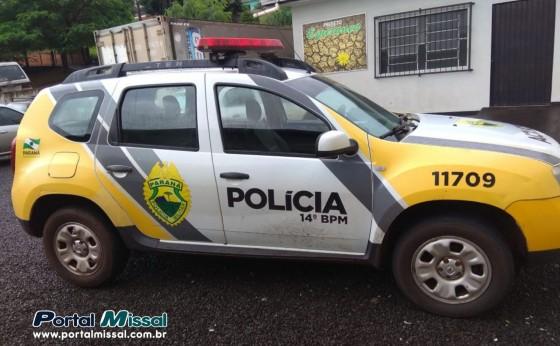 Polícia militar detém suspeito de arrombamento logo após a ação em São Miguel