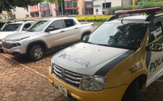 Polícia Militar recupera em Itaipulândia Fiat Toro roubada em Medianeira