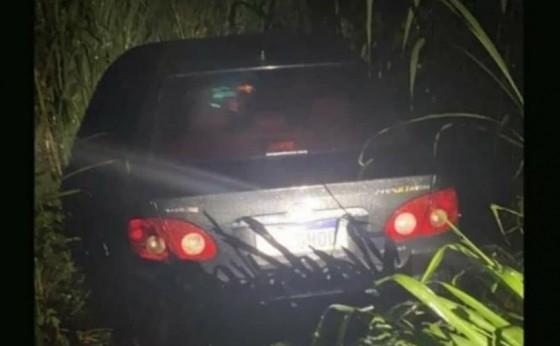Polícia Militar recupera veículo minutos após roubo na PR 495 sentido Missal