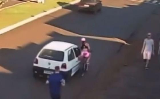 Polícia prende suspeito de assediar e derrubar ciclista no Paraná
