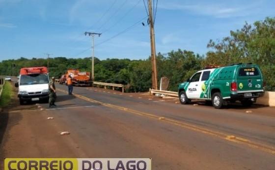 Policial Militar de folga impede que mulher tire a própria vida na ponte do rio São Francisco Falso