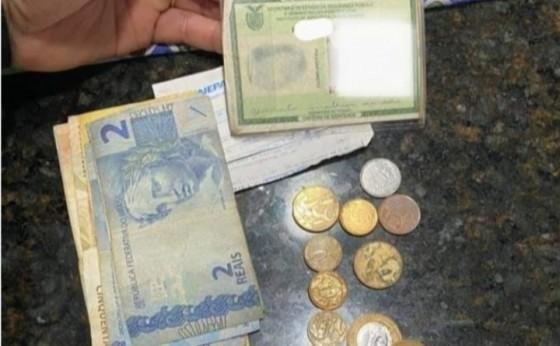 Policial Militar encontra carteira com dinheiro e devolve ao dono em Itaipulândia