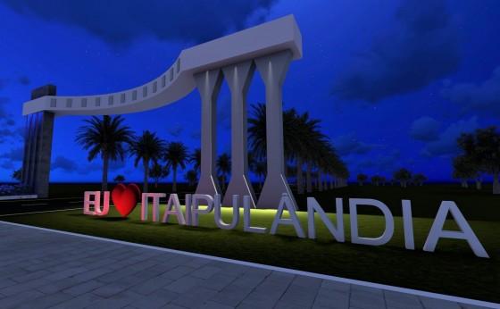 Portal de entrada de Itaipulândia integra ações de embelezamento e atrações turísticas