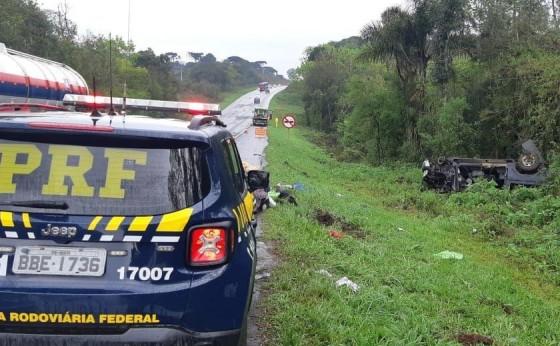 Professor da UTFPR de Medianeira morre em acidente na BR 277 na cidade de Palmeira