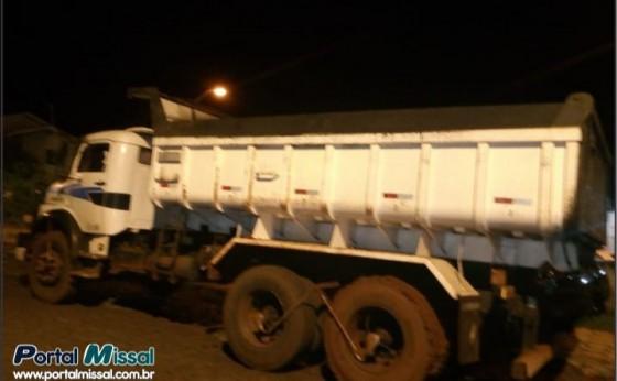 Proprietário localiza caminhão furtado em São Miguel do Iguaçu
