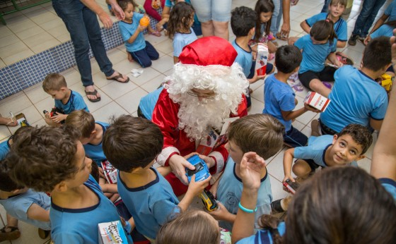Provopar Municipal de Missal recebe doação de brinquedos da Receita Federal