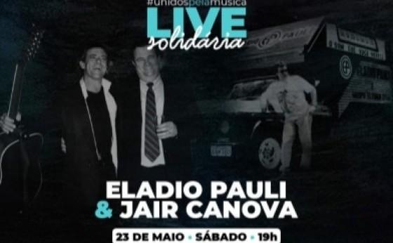 Recordando sucessos, Eladio Pauli & Jair Canova se apresentam hoje em uma super live