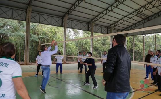 Retomadas as atividades do Voleibol Adaptado em São Pedro