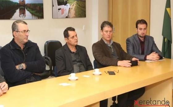 Reunião com Presidente da Copel em Santa Helena visa debater fornecimento de energia na região