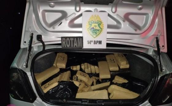 ROTAM apreende drogas e prende quatro pessoas em Vista Alegre - Missal
