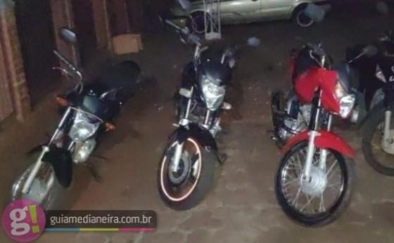 ROTAM apreende motos em abordagem durante a madrugada em Itaipulândia