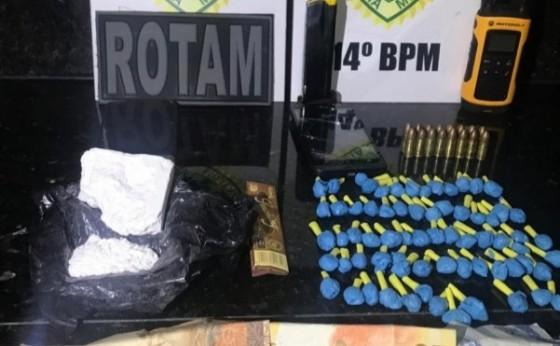 ROTAM apreende três adolescentes com drogas e munições em Medianeira