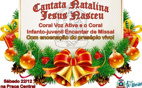 Sábado tem Cantata Natalina em Missal