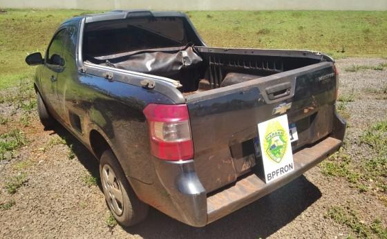 Santa Helena: BPFRON recupera veículo furtado em Santa Catarina durante abordagem