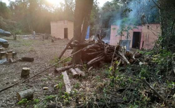 Santa Helena: Polícia Ambiental desenvolve operação na Curva do Ogregon; duas pessoas são detidas