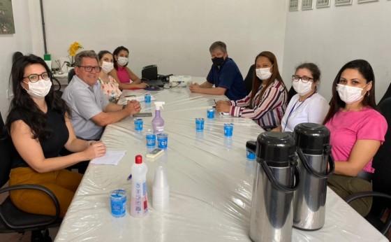 Saúde do Idoso é tema de reunião entre o município de Missal e Chefe da 9ª Regional de Saúde de Foz