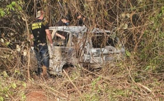Serranópolis: Corpo é encontrado carbonizado dentro de veículo
