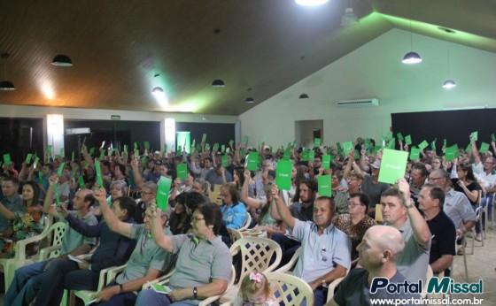 Sicredi Vanguarda presta conta referente ao ano de 2018 em Missal