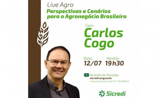 Sicredi Vanguarda realiza live voltada ao agronegócio