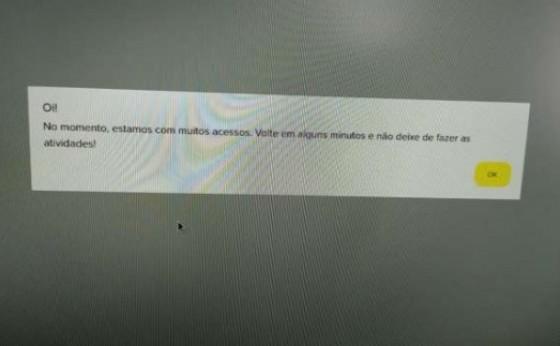 Sistema falha e alunos não conseguem fazer a Prova Paraná