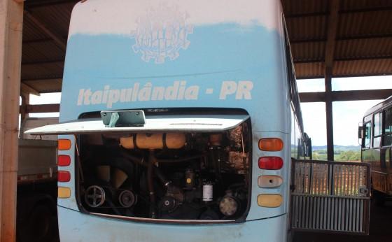 Situação crítica de máquinas, caminhões e equipamentos é constatada em Itaipulândia