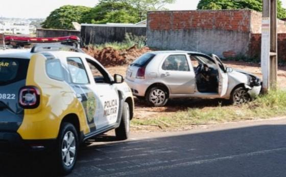 Suspeito de assaltar casa e fugir com carro das vítimas morre após confronto e perseguição
