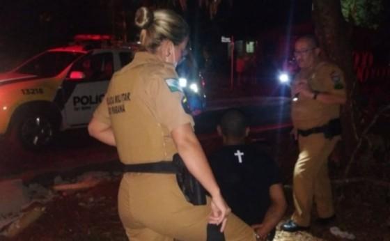 Suspeito de atirar em cachorro é preso pela Polícia Militar em Santa Helena