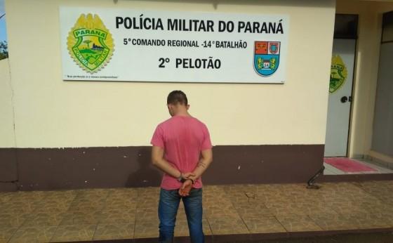 Suspeito de furto invade duas casas, assusta moradoras e é preso pela PM em São Miguel