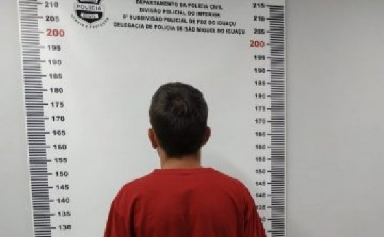 Suspeito de participação em homicídio em Itaipulândia se apresenta na Delegacia em São Miguel