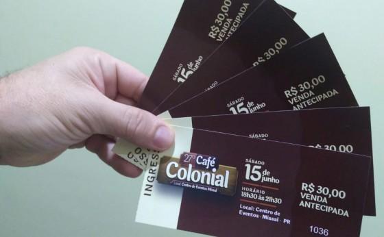 Todos preparados para o 27º Café Colonial em Missal, é amanhã
