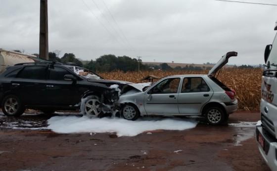 Trabalhador morre em colisão frontal com carro de contrabandista no interior de Guaíra